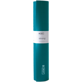 B Yoga B MAT Strong Yoga Mat 180x66cm x 6mm, Azul petróleo